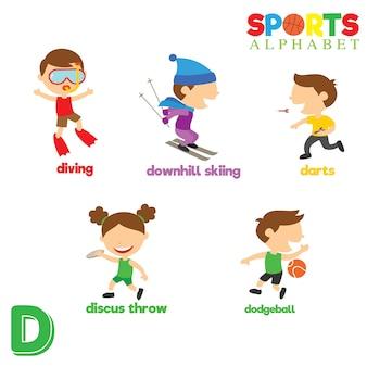 Sport alfabet