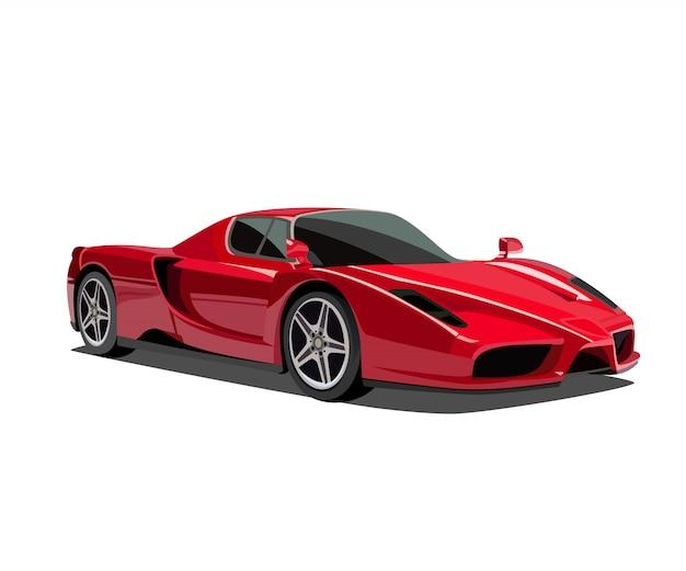 Sport auto illustratie