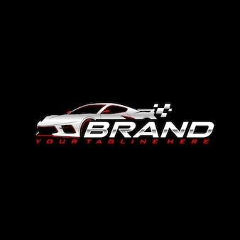 Sport auto logo sjabloon