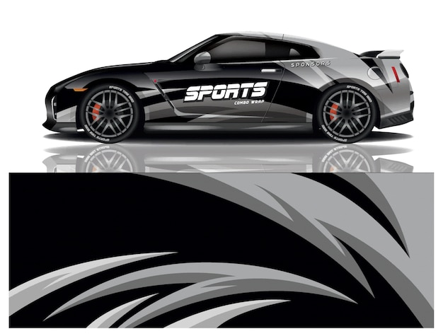 Sport auto sticker wrap