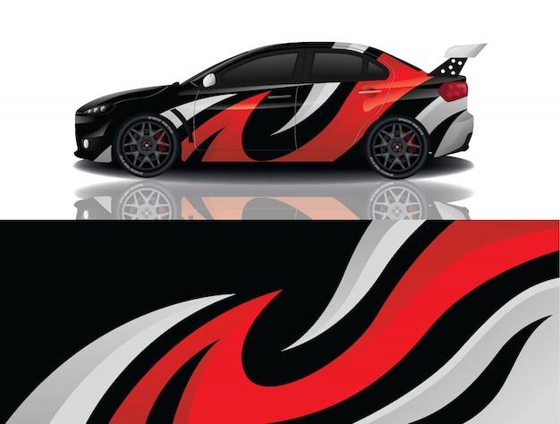 Sport auto sticker wrap