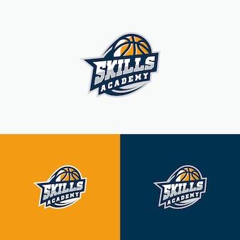 Sport basket bal illustratie vectormalplaatje
