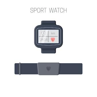Sport horloge pictogram