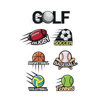 Sport internationale logo vector