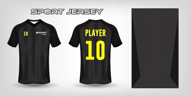 Sport jersey ontwerp stof textiel sjabloon