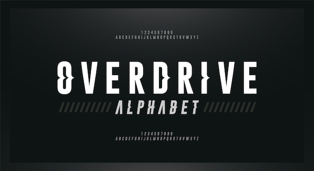 Sport modern cursief alfabet lettertype. typografie golfstijl lettertypen