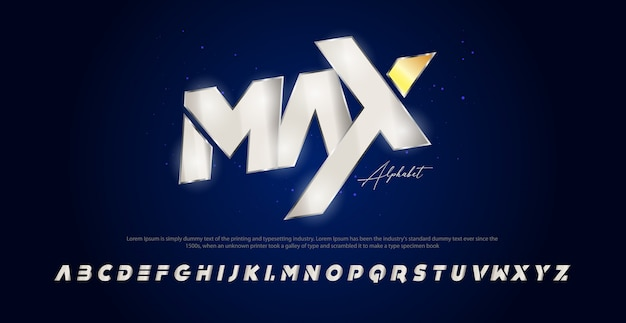 Sport moderne cursief alfabet lettertype. typografie stedelijke stijl lettertypen