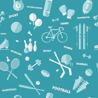 Sport naadloze patroon