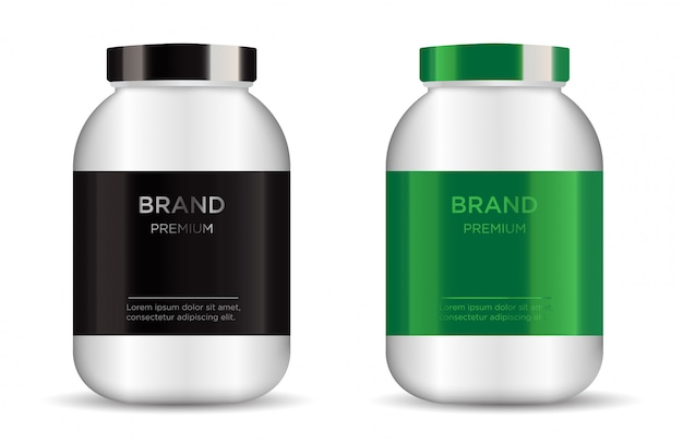 Sport nutrition containers