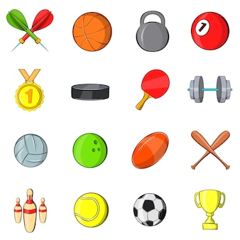 Sport pictogrammen instellen