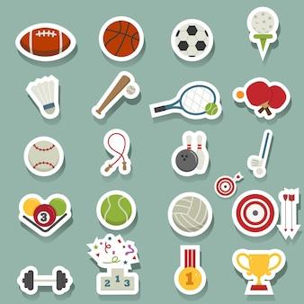 Sport pictogrammen
