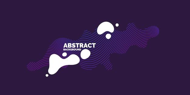 Sport poster. trendy abstracte achtergrond. samenstelling van amorfe vormen en lijnen. vector illustratie