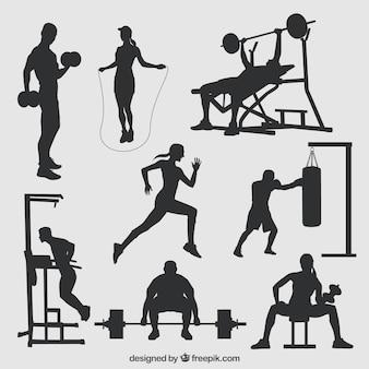 Sport silhouetten