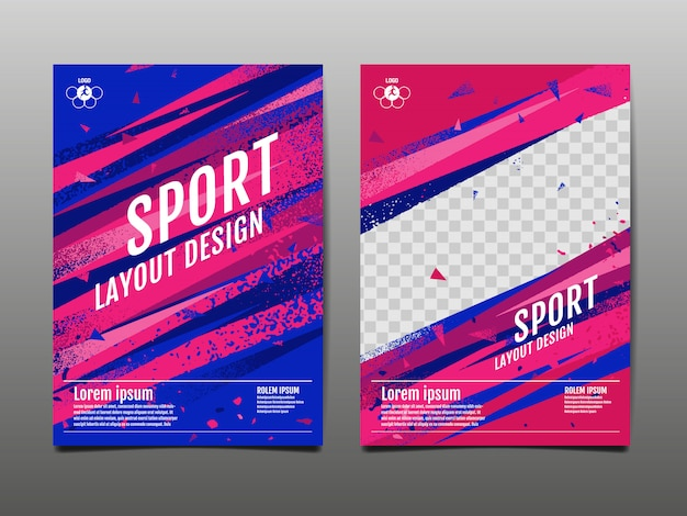 Sport sjabloon set