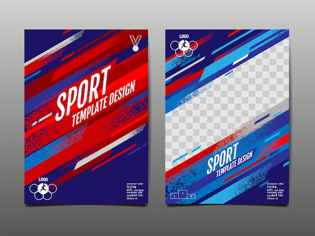 Sport sjabloon set