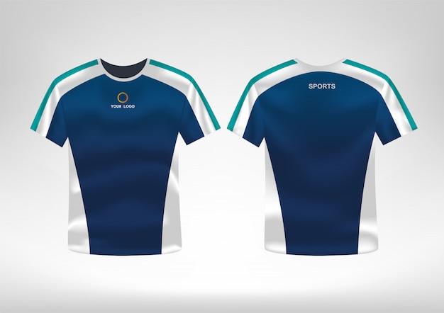 Sport t-shirt ontwerpsjabloon