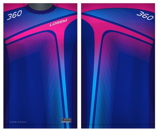 Sport t-shirt voor voetbal