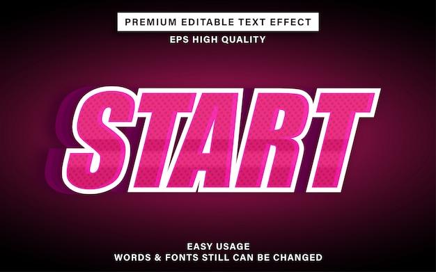 Sport tekst effect
