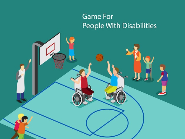Sport voor mensen met een handicap