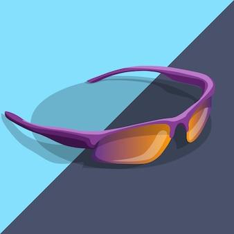 Sport zonnebril gepolariseerd