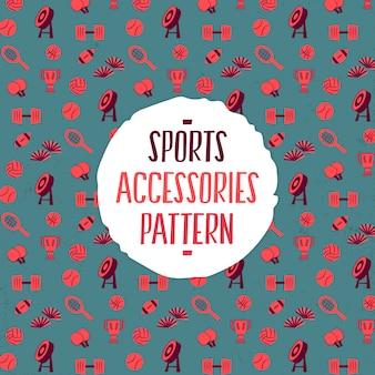Sportaccessoires patroon