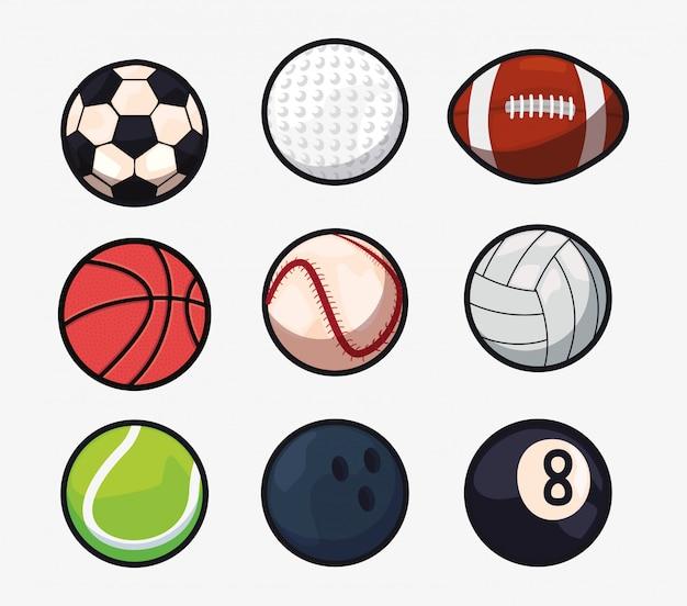 Sportballen apparatuur