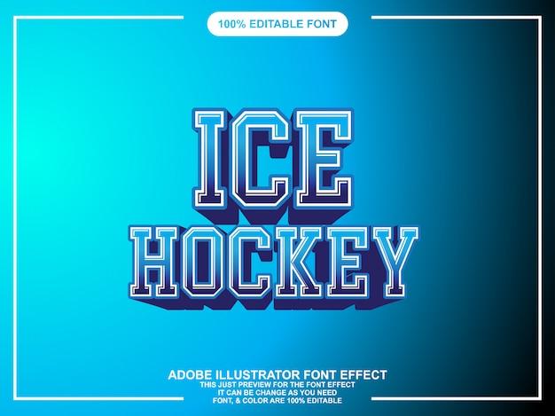 Sportgedurfde grafische stijl bewerkbare teksteffect
