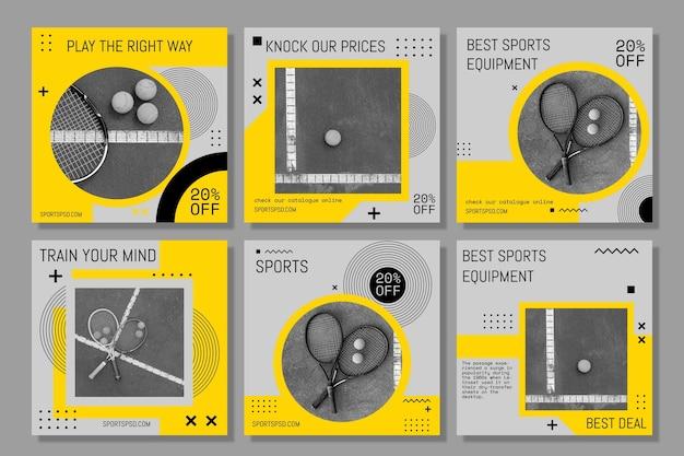 Sportief speel de verzameling gamekaarten