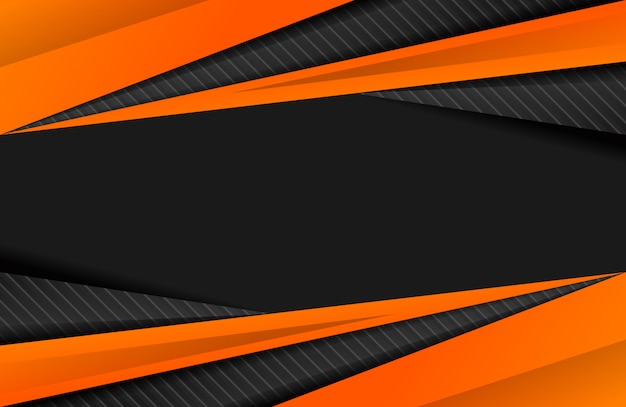 Sportieve abstracte achtergrond oranje