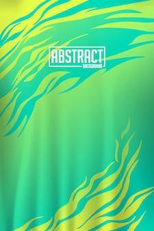 Sportieve abstracte achtergrond