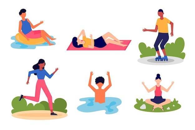 Sportieve zomercollectie