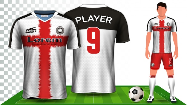 Sportshirt of voetbaloutfit uniform.