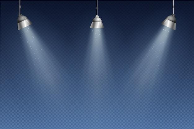 Spotlichten behang