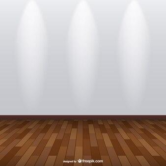 Spotlight expositieruimte vector