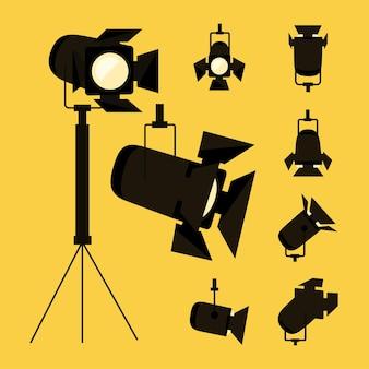 Spotlight-pictogramgroep