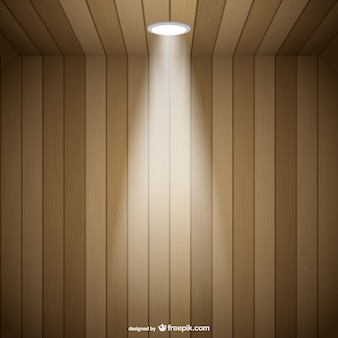 Spotlight tridimentional ruimte vector