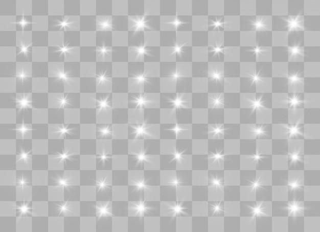Sprankelende magische deeltjes