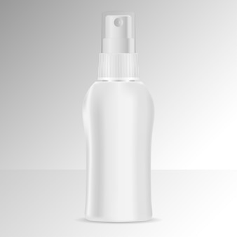 Spray fles cosmetica mockup.