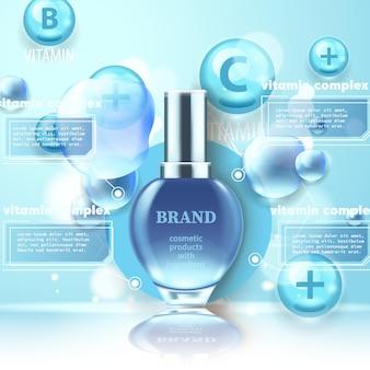 Sprayfles voor bruiningsolie met uv-bescherming. sunblock spf uv-beschermingsoplossing zonnebrandcrème