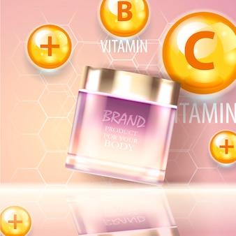 Sprayfles voor bruiningsolie met uv-bescherming. sunblock spf uv-beschermingsoplossing zonnecrème-ontwerp. vitamine e. vitamine d en coenzym q10 reparatie deskundige formule.