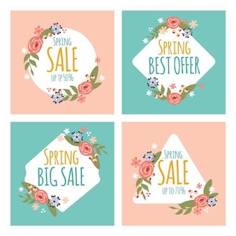 Spring sale instagram story pack