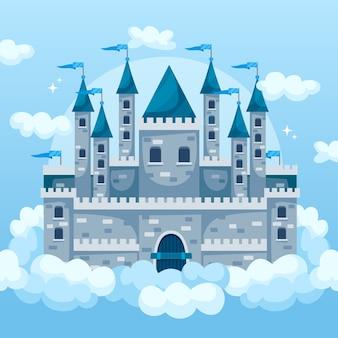 Sprookjesachtig magisch kasteel