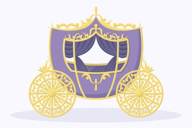 Sprookjeswagen met elegant ontwerp