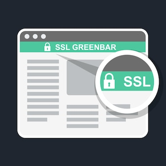 Ssl groene balk in browser