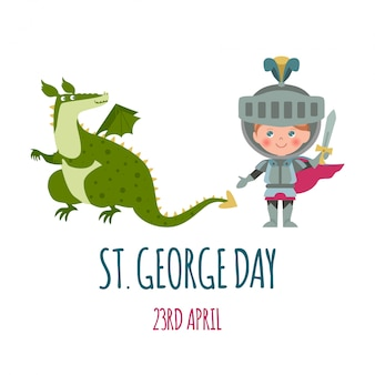St. george's day-kaart.