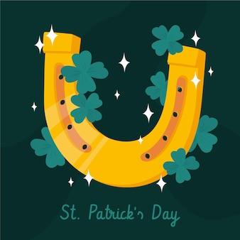 St patrick dag illustratie