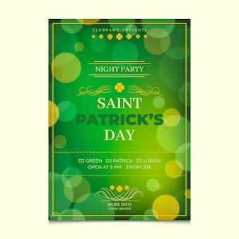 St patrick dag poster