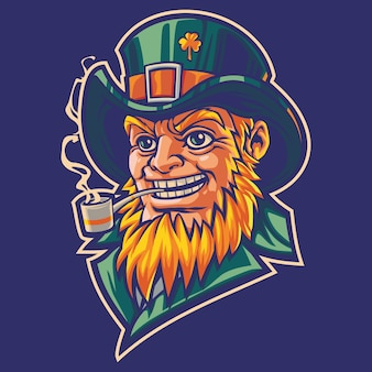 St. patrick day logo afbeelding