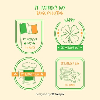 St patrick's badge collectie