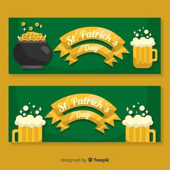 St. patrick's dag banner